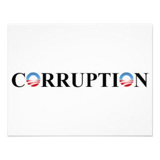 CORRUPTION CUSTOM INVITE