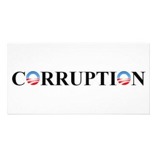 CORRUPTION CUSTOM PHOTO CARD