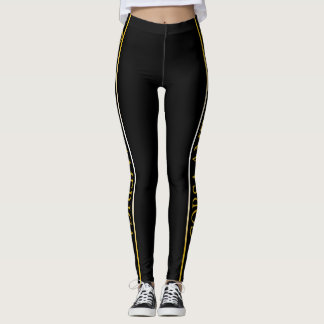 Corsa Rally Black Leggings