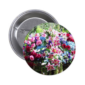 Corsage Pinback Buttons