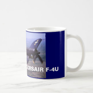 CORSAIR F-4U CLASSIC WHITE COFFEE MUG