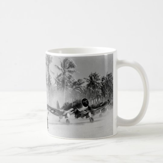 CORSAIR F-4U SOUTH PACIFIC WW2 COFFEE MUG