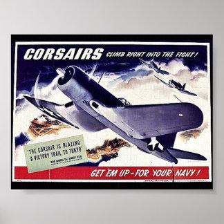 Corsairs Posters