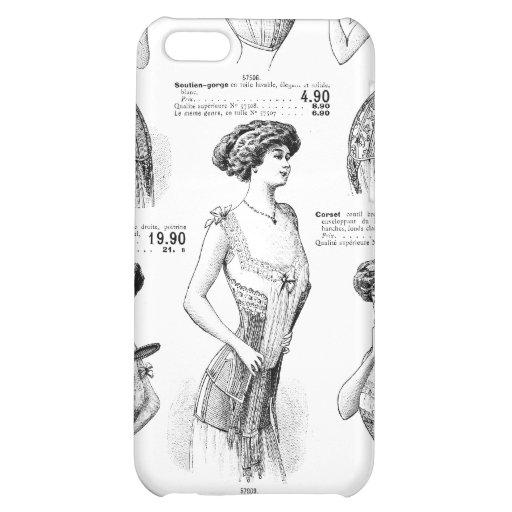 Corset Ad Paris Winter 1909-1910 Case For iPhone 5C