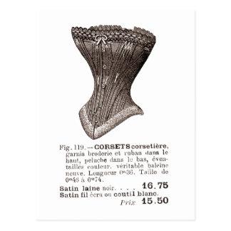 corset Fig. 119 Postcard