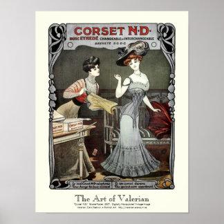Corset N.D. - Print