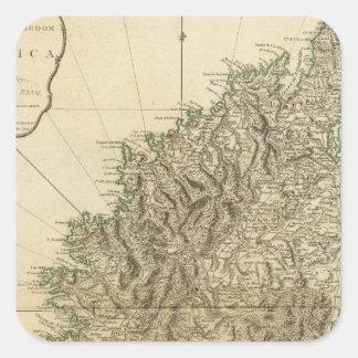 Corsica 2 square sticker