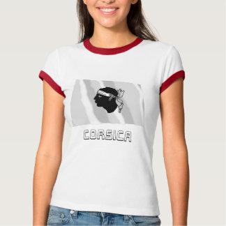 Corsica Waving Flag with Name T-shirt