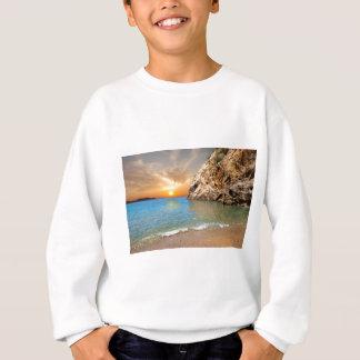 corsican landscape sweatshirt