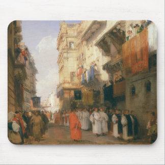 Corso Sant'Anastasia, Verona (oil on panel) Mouse Pad
