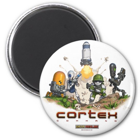 Cortex Command Splash Magnet