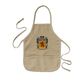 Cortina Coat of Arms - Family Crest Kids Apron