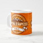 Cortina d'Ampezzo Logo 20 Oz Large Ceramic Coffee Mug