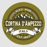Cortina d'Ampezzo Logo Sticker