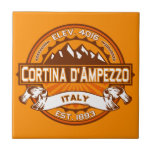 Cortina d'Ampezzo Logo Tile