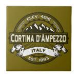 Cortina d'Ampezzo Logo Tiles