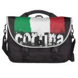 Cortina Grunge Flag Laptop Computer Bag