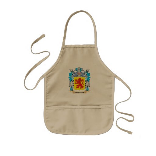 Cortinas Coat of Arms - Family Crest Apron