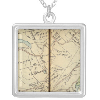Cortlandt, New York 2 Silver Plated Necklace