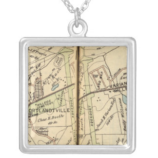 Cortlandt, New York Silver Plated Necklace