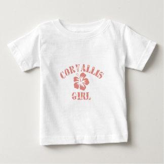 Corvallis Pink Girl T-shirts