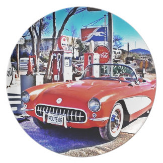 Corvette 66 plate