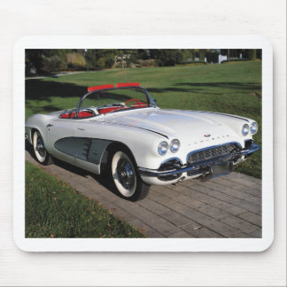 Corvette antique cars classic autos vintage cars mouse mat