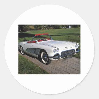 Corvette antique cars classic autos vintage cars stickers
