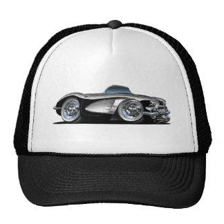 Corvette Black Convertible Cap