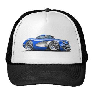 Corvette Blue Car Cap
