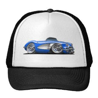 Corvette Blue Convertible Cap