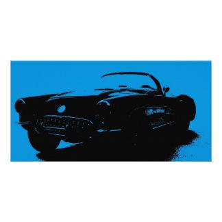 Corvette Bookmark Personalized Photo Card