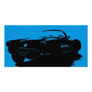 Corvette Bookmark Photo Card