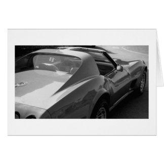 Corvette Card