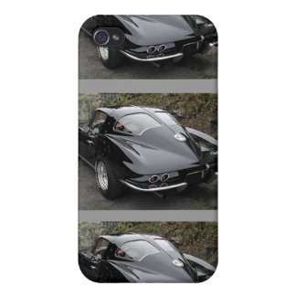 Corvette Classic Split Window Cars Covers For iPhone 4
