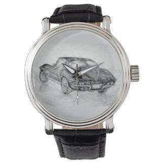 corvette,corvettes,classic,classic car,vintage watch