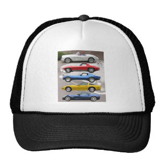 Corvette Generations Hats