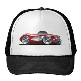 Corvette Maroon Convertible Cap