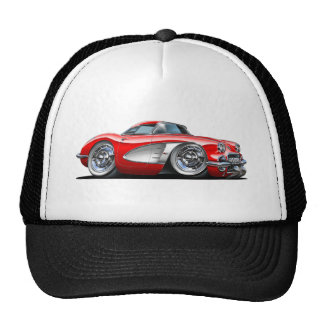 Corvette Red Car Cap