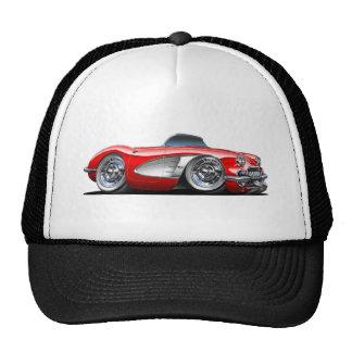 Corvette Red Convertible Cap