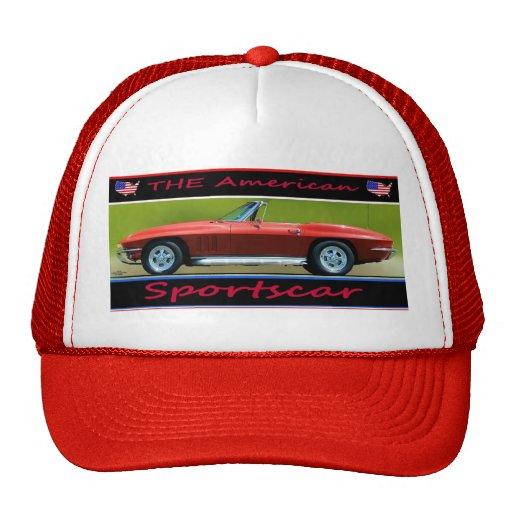 CORVETTE-THE AMERICAN SPORTSCAR HAT