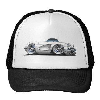Corvette White Convertible Cap