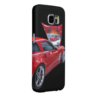 Corvette with Airbrush Samsung Galaxy S6 Cases