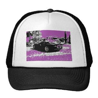 Corvette with Purple Hats