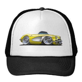 Corvette Yellow Convertible Cap