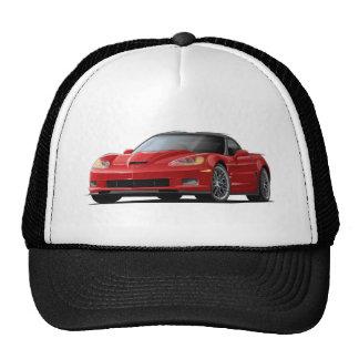 Corvette ZR1 Red Car Cap
