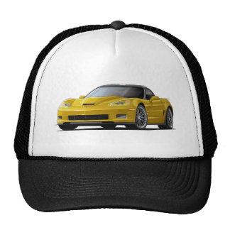 Corvette ZR1 Yellow Car Cap