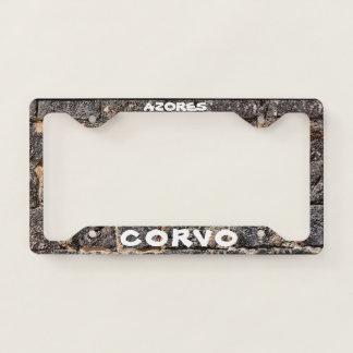 Corvo Azores Custom License Plate Frame