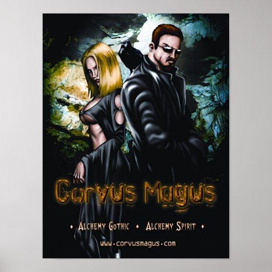 Corvus Magus Poster