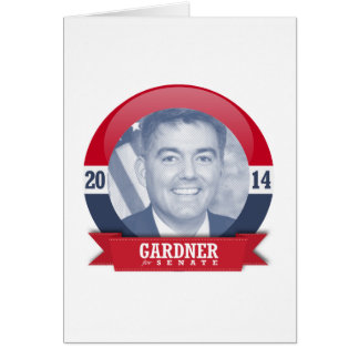 CORY GARDNER CAMPAIGN GREETING CARD